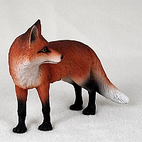 Fox Red Standard Figurine
