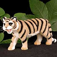 Tiger Fur Figurine