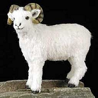 Dahl Sheep Fur Figurine