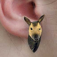 Okapi Earrings Post
