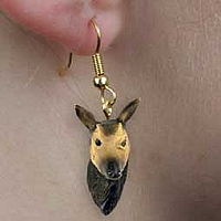 Okapi Earrings Hanging