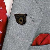 Bear Black Pin