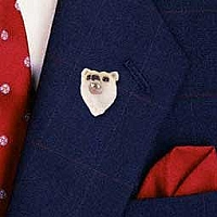 Bear Polar Pin