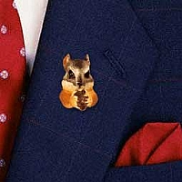 Chipmunk Pin