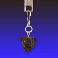 Panther Zipper Charm