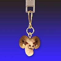 Dahl Sheep Zipper Charm