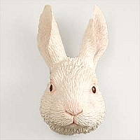 Rabbit White Magnet