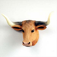 Long Horn Steer Magnet