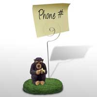Chimpanzee Memo Holder