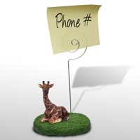 Giraffe Memo Holder
