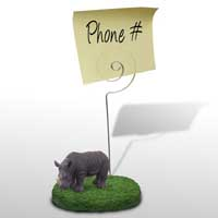 Rhinoceros Memo Holder