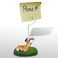 Deer Buck Memo Holder