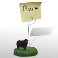 Sheep Black Memo Holder