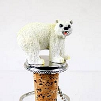 Bear Polar Bottle Stopper