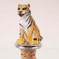Tiger Bottle Stopper