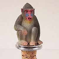 Mandrill Bottle Stopper