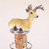 Deer Buck Bottle Stopper