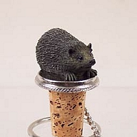 Hedgehog Bottle Stopper