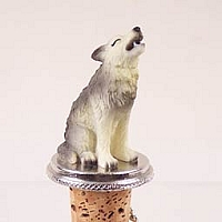 Wolf Timber Bottle Stopper