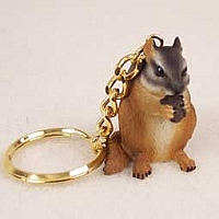Chipmunk Key Chain