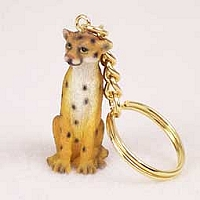 Cheetah Key Chain