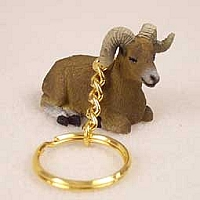Big Horn Sheep Key Chain
