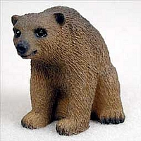 Bear Brown Tiny One Figurine