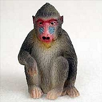 Mandrill Tiny One Figurine