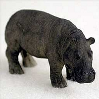 Hippopotamus Tiny One Figurine