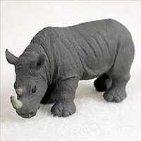 Rhinoceros Tiny One Figurine