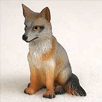 Fox Gray Tiny One Figurine