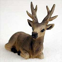 Elk Bull Tiny One Figurine