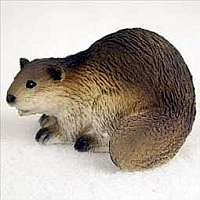 Beaver Tiny One Figurine