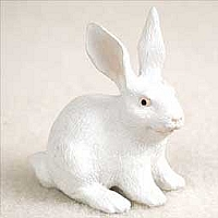 Rabbit White Tiny One Figurine