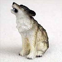 Wolf Timber Tiny One Figurine