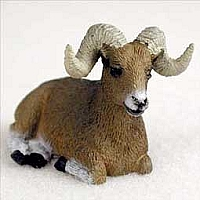Big Horn Sheep Tiny One Figurine