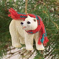 Bear Polar Original Ornament