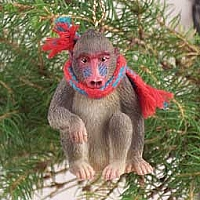 Mandrill Original Ornament