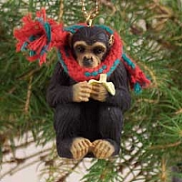 Chimpanzee Original Ornament