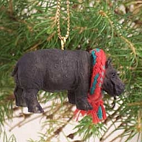 Hippopotamus Original Ornament