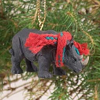 Rhinoceros Original Ornament