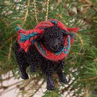 Sheep Black Original Ornament