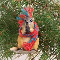 Chipmunk Original Ornament