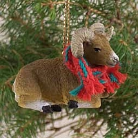 Big Horn Sheep Original Ornament