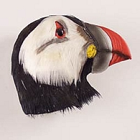 Puffin Feathered Magnet