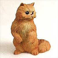 Red Persian Standard Figurine