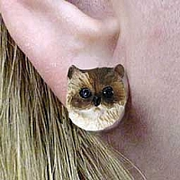 Ragdoll Earrings Post