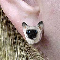 Siamese Earrings Post