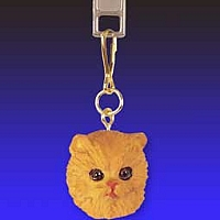 Red Persian Zipper Charm