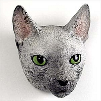 Blue Cornish Rex Magnet